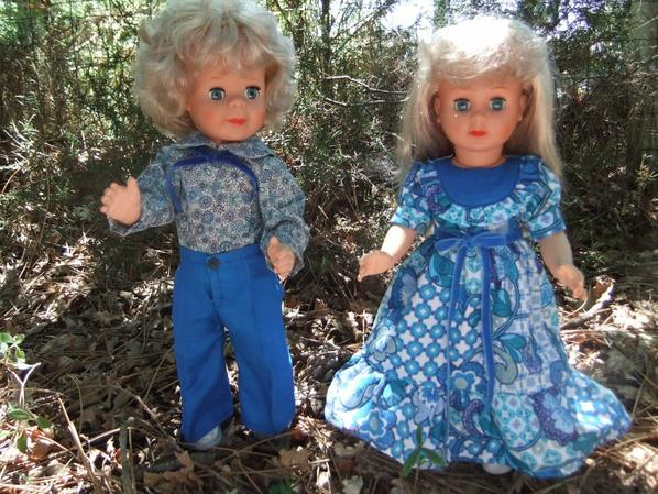En juin 1977, c'était jour de fête chez les poupées!