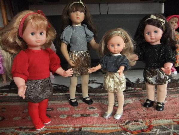 Quatre soeurs: tenue de décembre 2017 !