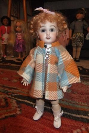 Un manteau pour Bleuette!