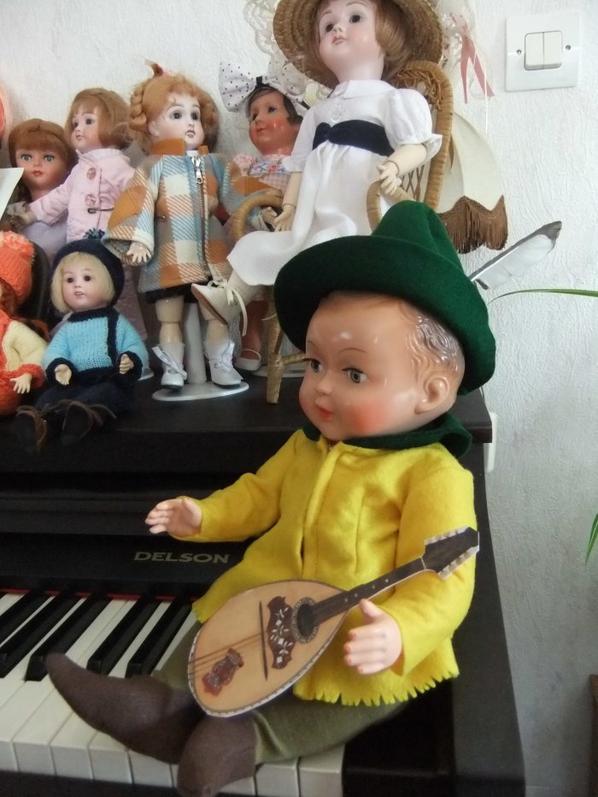 Un petit troubadour ...