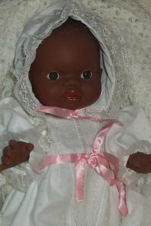 Une robe parfaite pour le baptème de Bébé!
