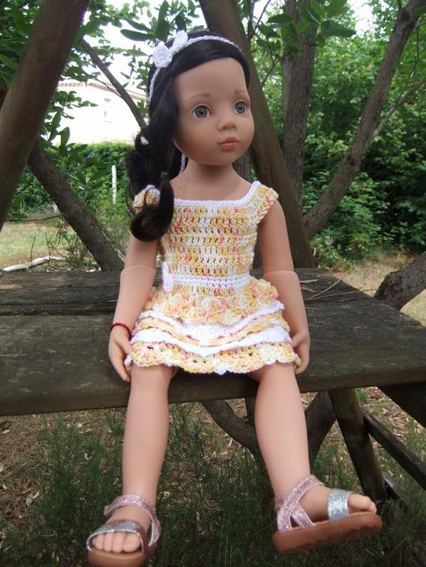 Louisa couleur soleil!