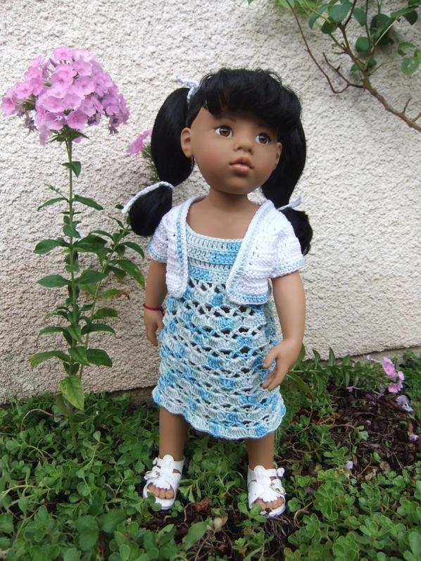 Annette au jardin!