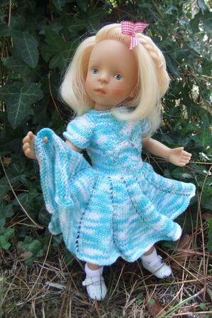 Petite robe pour ma petite Minouche Mila!