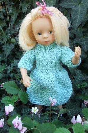 Une petite robe automnale pour Minouche!