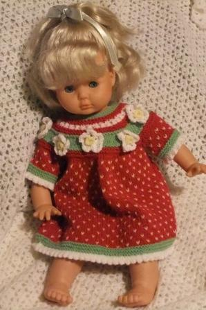 Petite Mathilde: petite fraise!