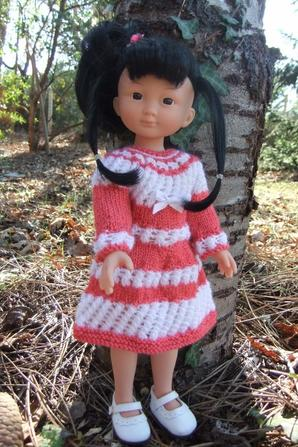 Une nouvelle robe pour Capucine!