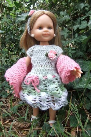 Une nouvelle petite robe et étole!