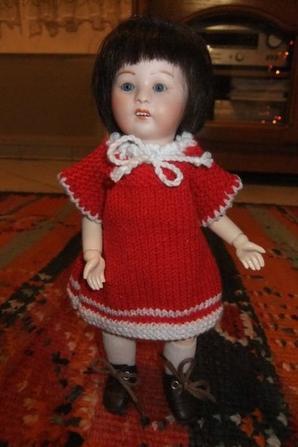 Bleuette, Loulotte et Mlle Mimi aiment aussi le rouge!