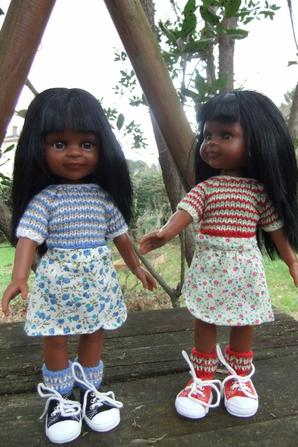 Les jumelles!