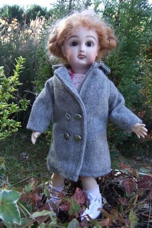 Un manteau de demi-saison pour Bleuette!