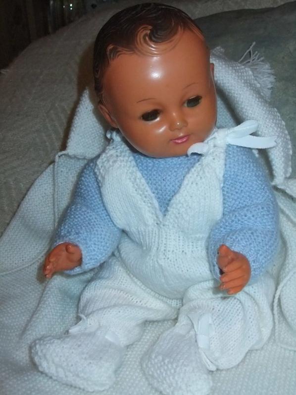 Novembre 1954 et 1955: bébé Michel