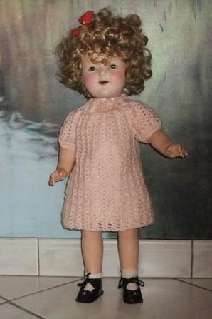 Une robe pour ma petite Shirley!