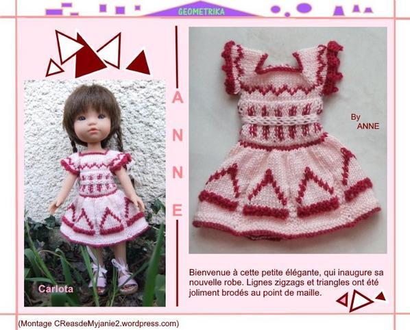 Une robe à motifs géométriques pour ma petite Carlota!