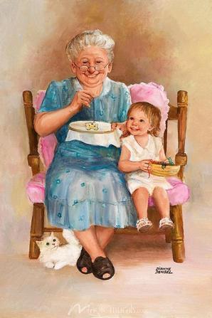 Bonne fête aux Mamies !