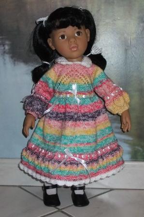 Une nouvelle robe pour ma petite Annette!