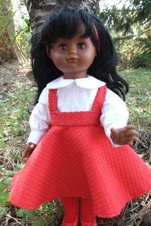Mars 1993: une jupe virevoltante pour petite fille sage !