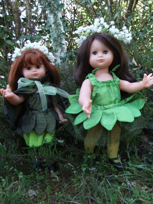 Les petites fées des bois décident enfin de montrer leur bout de nez!