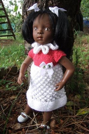 Une petite robe pour Minouche!