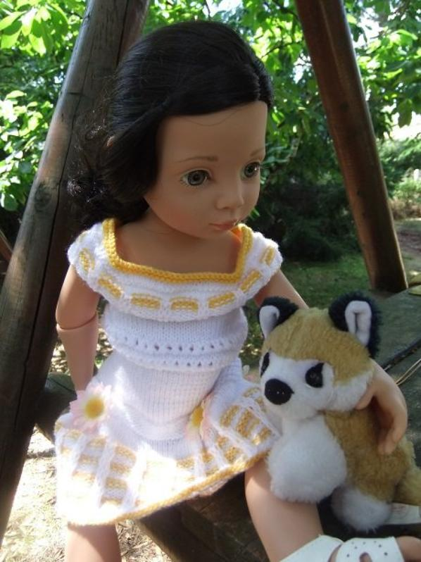 Luisa et son petit renard!