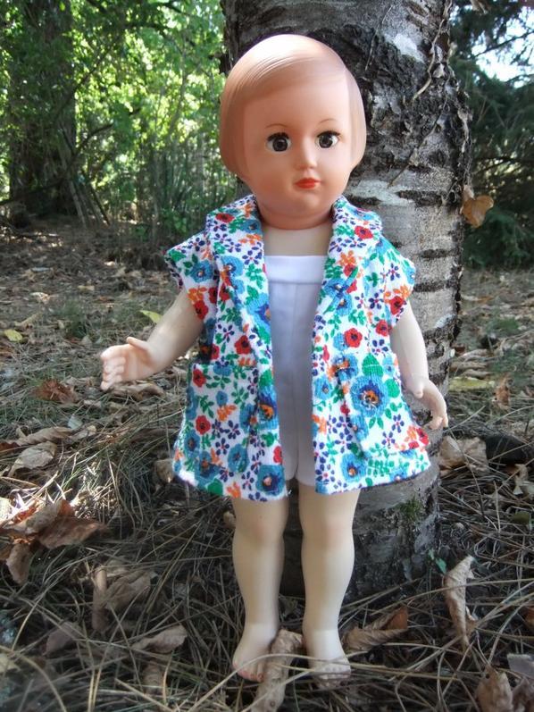Juillet 1956: Françoise est prête pour aller à la plage!
