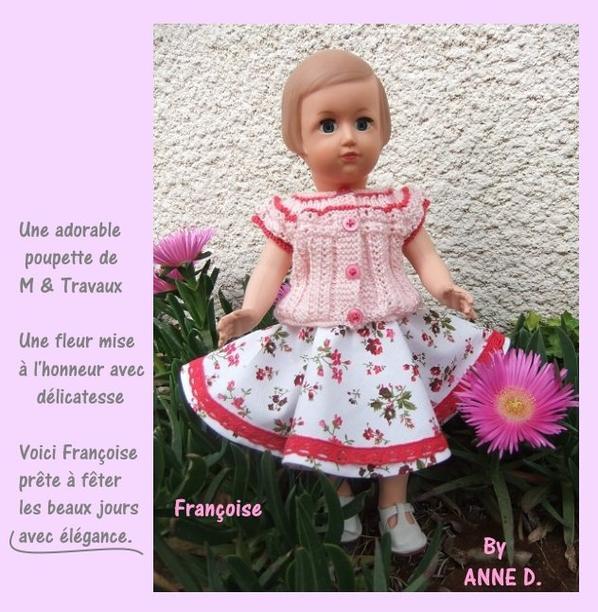 Tenue harmonieuse pour Françoise!