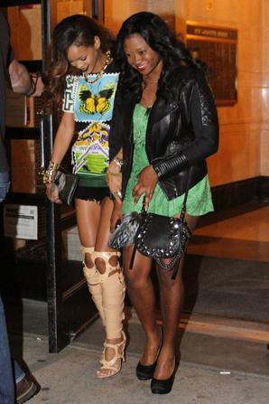 Le 30 Avril 2013 :               Rihanna dans les rues de New York