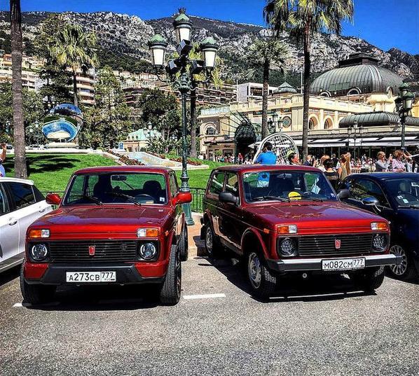 """LADA 4x4 en invitées surprises au prestigieux salon """"Top Marques"""" de Monaco !!!"""