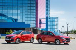 "Davantage d'images des LADA VESTA Sedan et LADA XRAY ""50 Anniversary"" !!!"