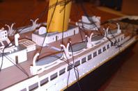 titanic en cours de montage