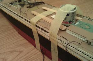 titanic en chantier
