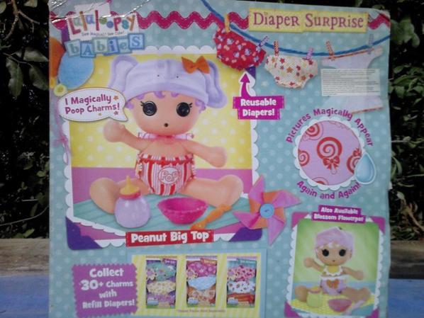 lalaloopsy babies diaper surprise