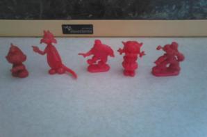 minis figurines diverses