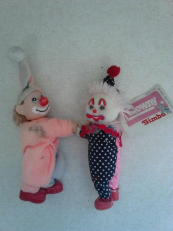 poupees clown, cabbadge kids snoopy