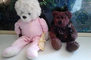 "ours burberry, ideal toy ,bambia et raynaud ""les petites marie"""