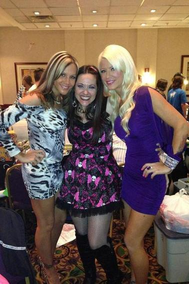 velvet, angelina & maryse
