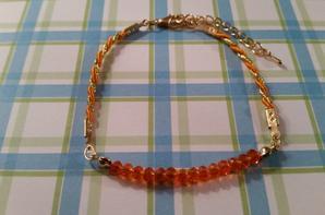 """Bracelet """"Orangade"""""""