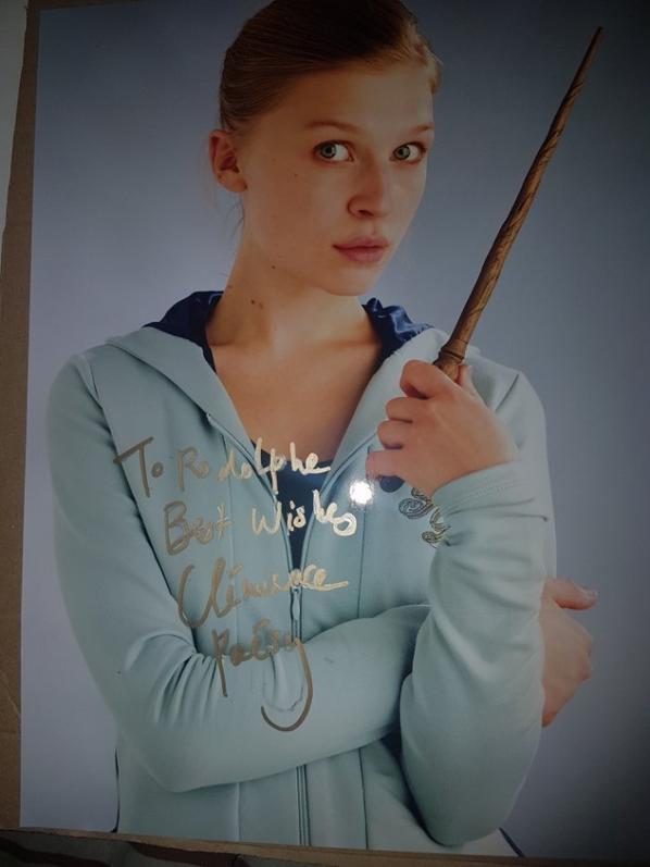 Clémence Poésy (Harry Potter et la Coupe de feu, Le dernier gang, Le grand Meaulnes)