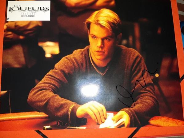 Matt Damon (La Mémoire dans la peau, Will Hunting, L'Idéaliste)