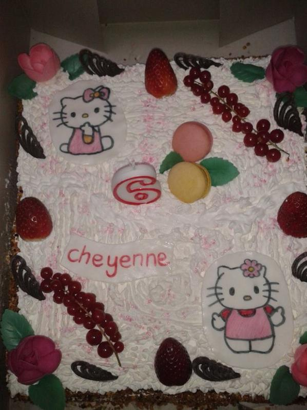 gateau fraises framboises