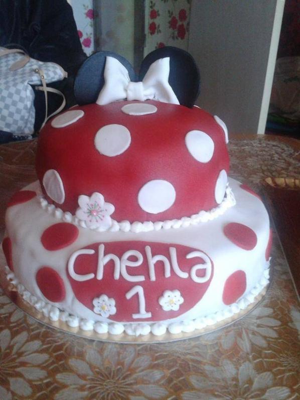 MINNIE WEDDING CAKE