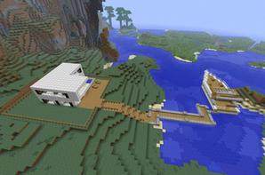 Maison de luxe - Blog de Construction-Minecraft