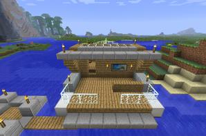 Bateau (de luxe ) - Blog de Construction-Minecraft