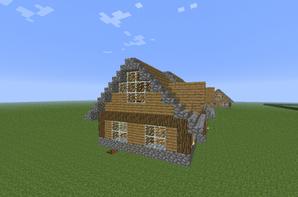 Petite Maison En Bois Blog De Construction Minecraft