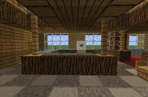 Petite maison en bois 2 blog de construction minecraft - Maison en bois minecraft ...