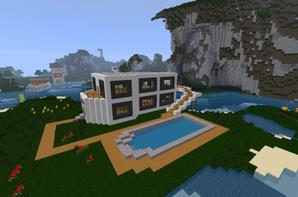 Maison De Luxe Blog De Construction Minecraft