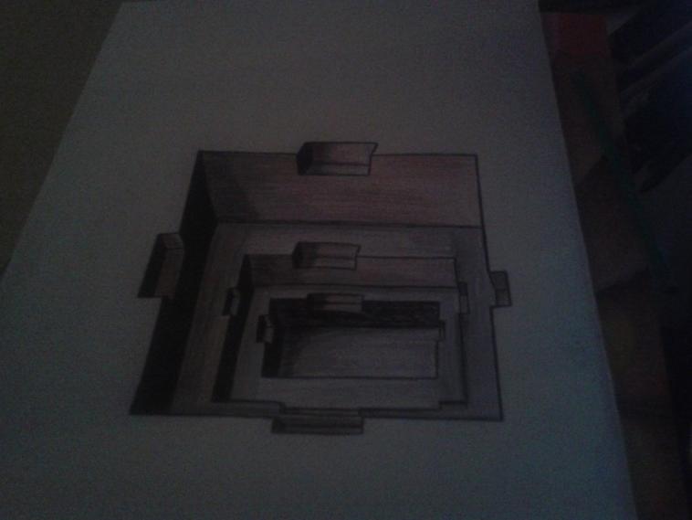 trompe l'oeil dessin crayon ! by tatatron
