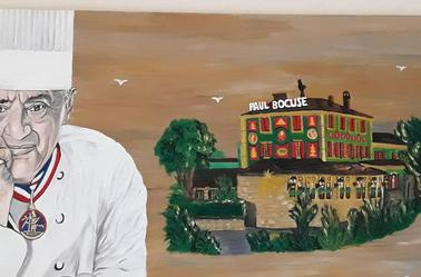 Paul Bocuse By Linda Tatatron