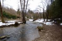 Cascades du Hérisson, avril 2019