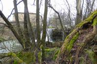 Cascade de Thorey-Lyautey, mars 2021